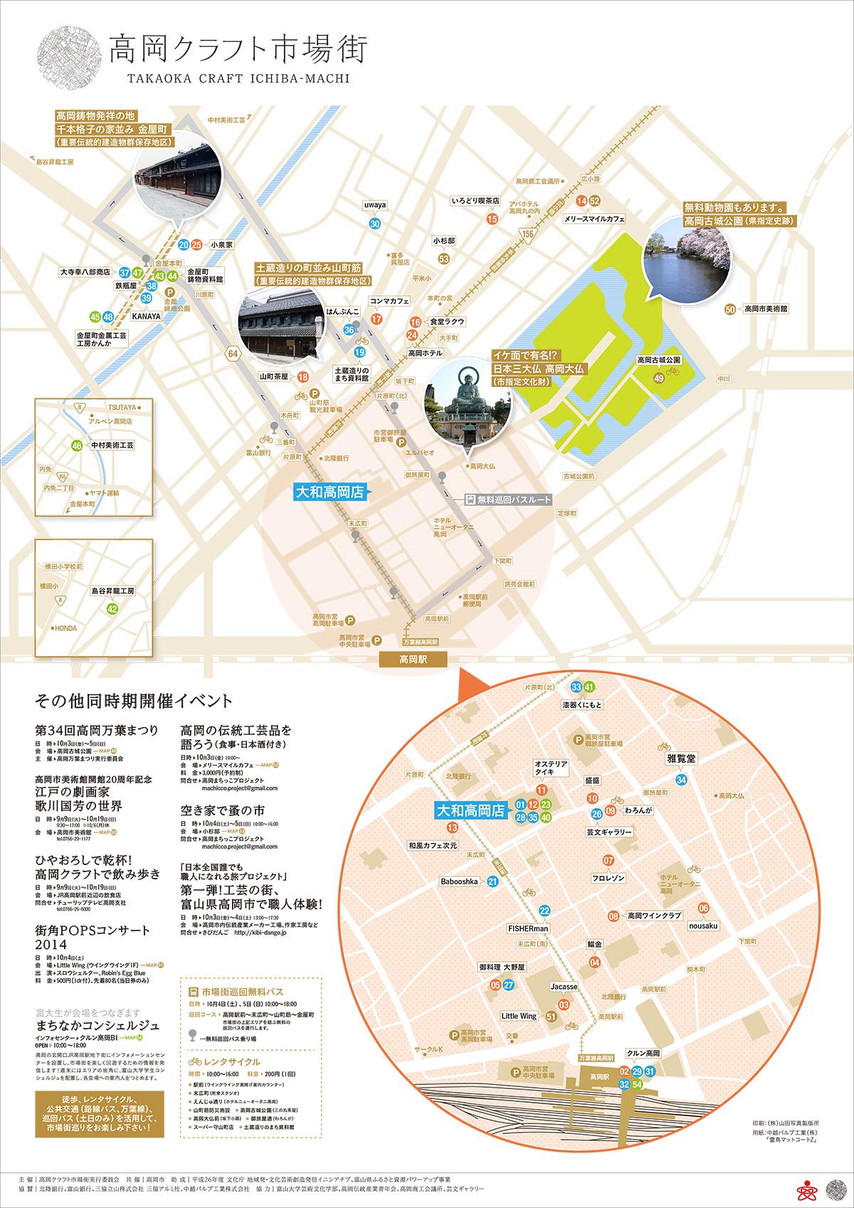 市場街MAP